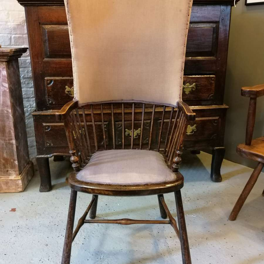 20th C Arts & Craft Fireside/Porters Chair NOW SOLD