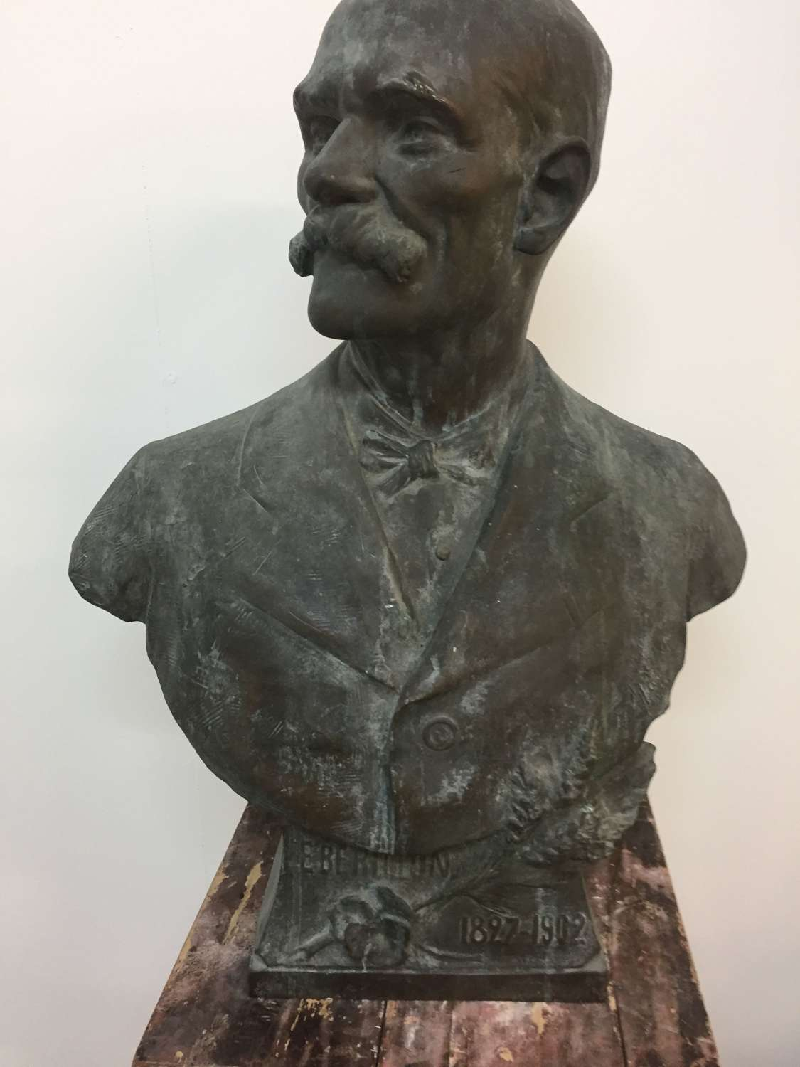 French Bronze Bust E Berillon 1827-1902 NOW SOLD