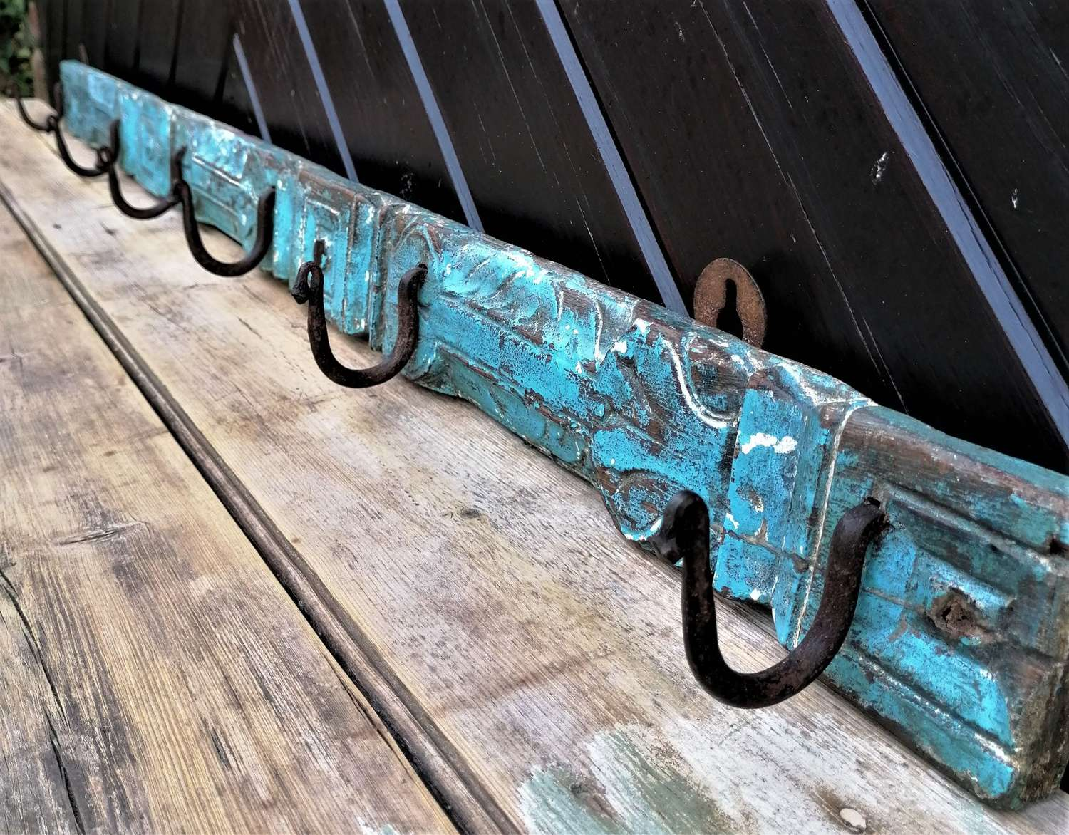 Early 20th C Indian Coat or Hook rack